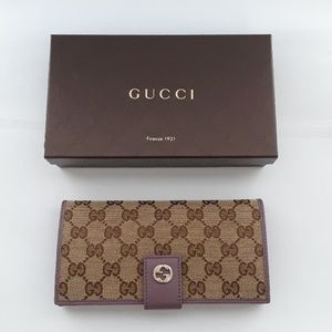New in box 100% Authentic GUCCI wallet. 337335